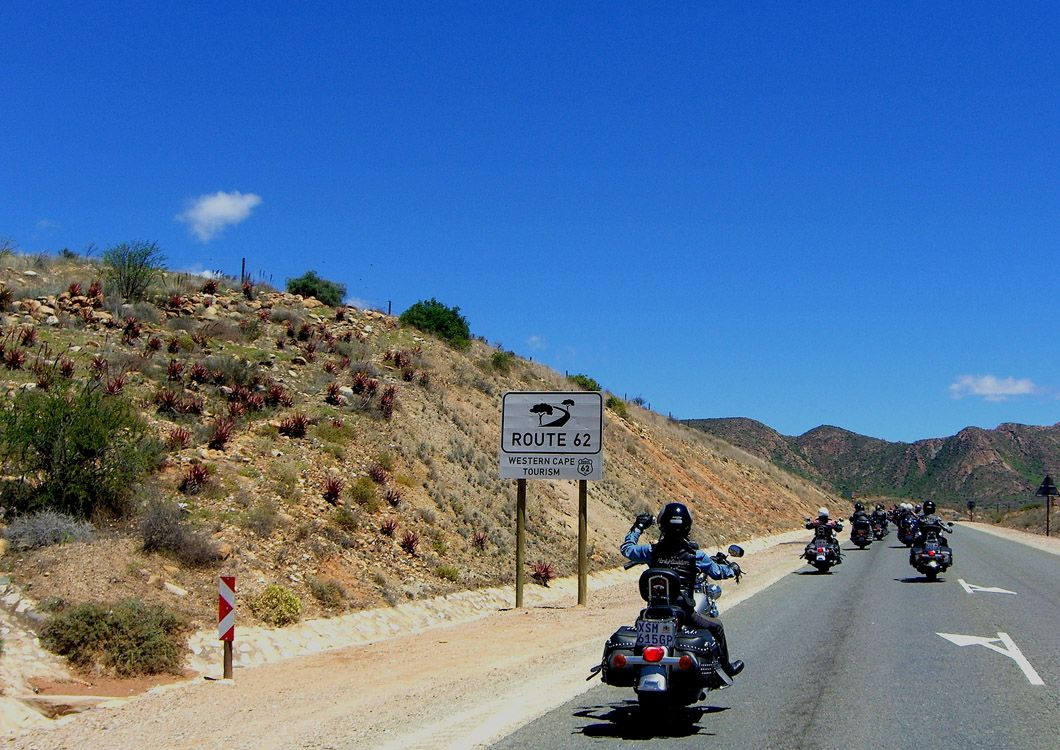 west forever riders on the route 66 in south africa