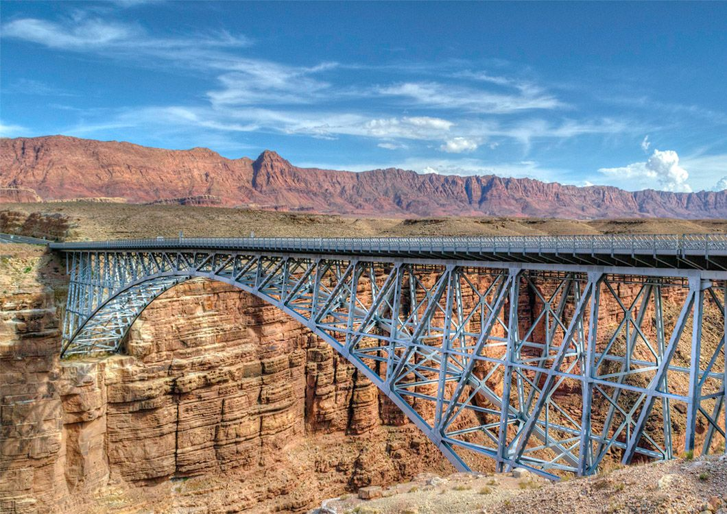 navajo bridge motorcycle tour usa