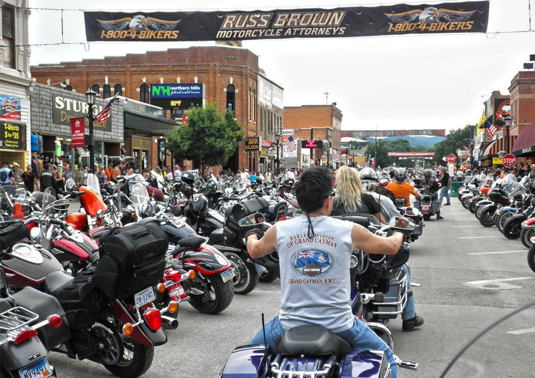 Run to sturgis harley rally