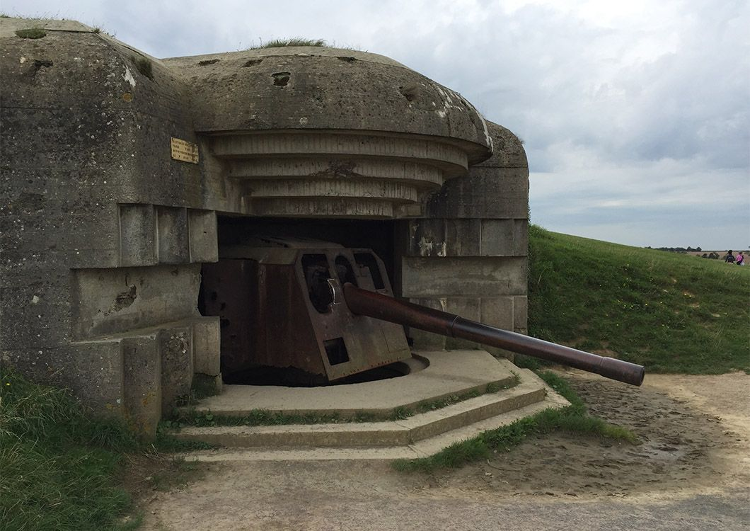 Bunker of the Atlantic Wall, D-Day Beaches - D-Day Tour / Paris - Normandy