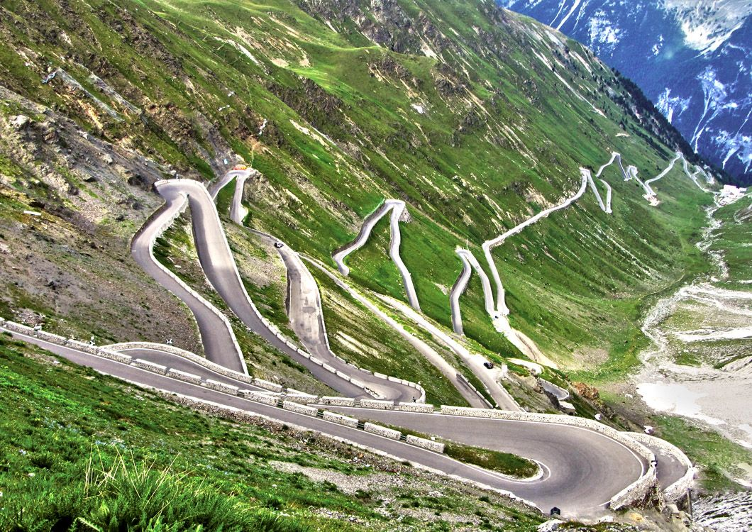 Stelvio Pass - Route of the Alps