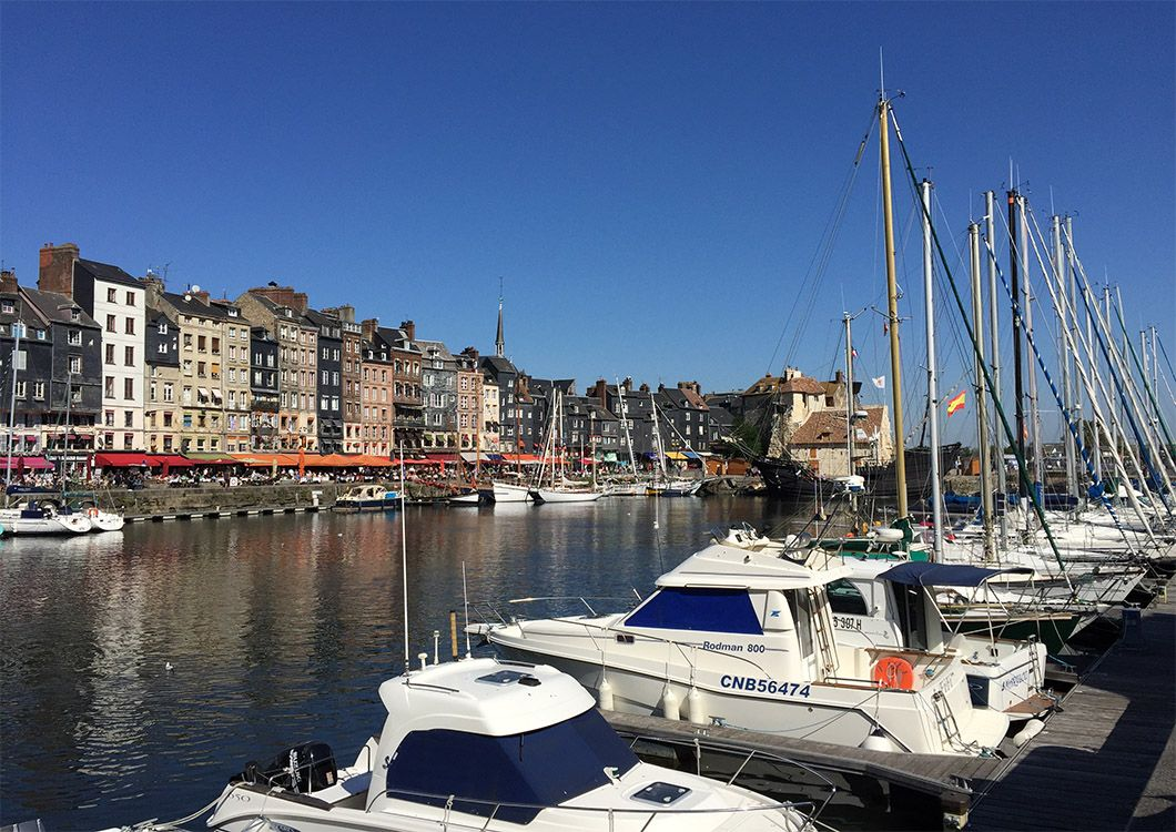 Typical French Harbour / Resort - D-Day Tour / Paris - Normandy
