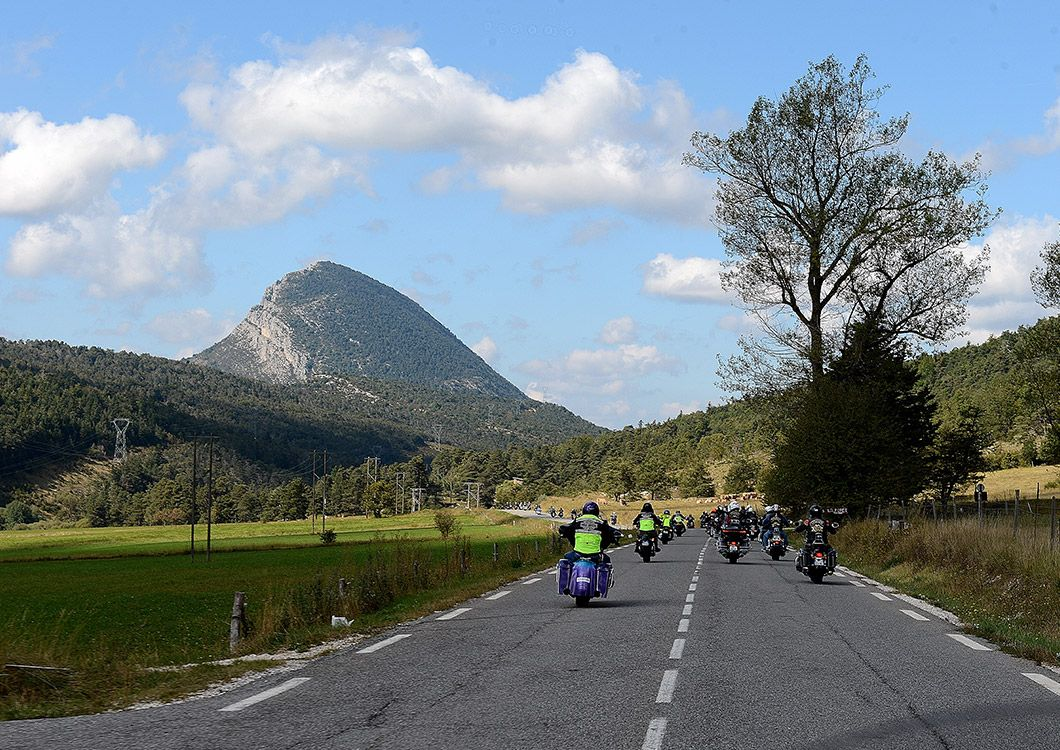 west forever riders on the road during the heart of provence guided tour